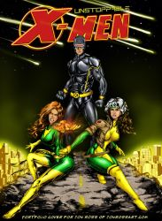 X-men cover colored by jonrosscomics