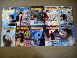 Dylan Dog Comic Collection from 20 to 29 by NecromancerKing85
