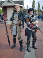 Hawke and Anders by Sadict