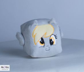 [For Sale] Derpy Hooves Plush Cube by meplushyou