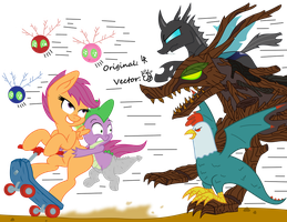 Scary Monsters and Nice Sprites - Vector by Darknisfan1995