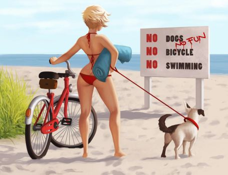 no dogs by DanielaUhlig