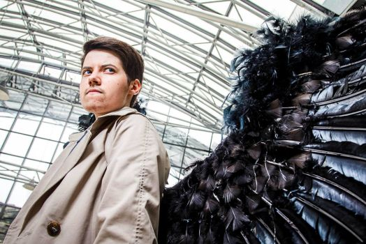 Supernatural - Castiel 'Facing Hell for you' by Hirako-f-w
