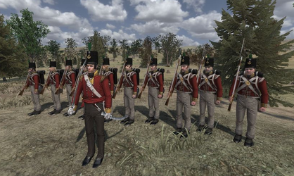 The Prince of Wales' Own Volunteers, Light Company by koach2