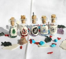 Fairy Dust Bottle Series by GeneveveX
