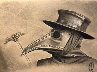 Plague Doctor by mstephens04