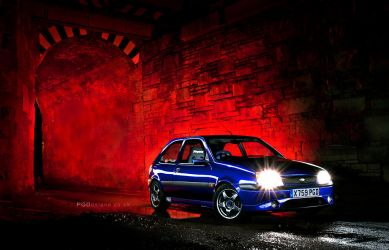 Lightpainted Fiesta by PGDsx