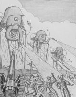 The War of the Worlds - The Fall of England by atisuto17