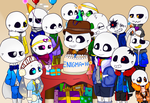 Enigma's Birthday Party {Mysterytale Contest} by LastOneStandin