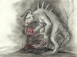 Deathclaw by HunterBeingHunted