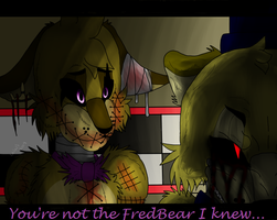 You're not the FredBear I knew...(Screenshot) by cristalheart7