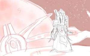 alarak_rough sketch by HATNAT