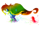 Colorful Run by ThaMutt