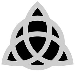 (PF) Triquetra (Charmed) Pumpkin Stencil by leopardtoes