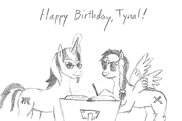 Tynal's Birthday Present by Uri-the-Espeon