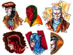 Marvels - Marker Sketches by Tensen01