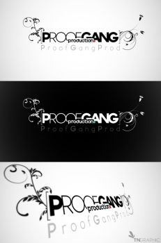 Proof Gang prod LoGo by tngraphic