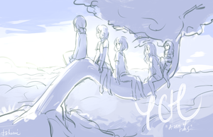 [YCH, Set Price] A sea of trees [CLOSED] by tshuki