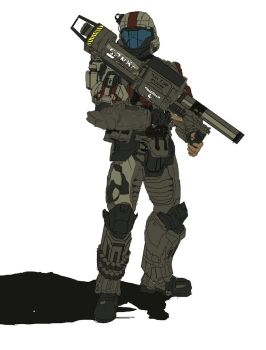 Halo 3 ODST: Mickey by Drako-Rogue