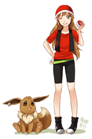 Amber and eevee
