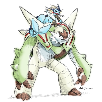 Guess who jumped on the Chesnaught train by WhereShadowsThrive
