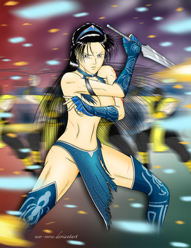 Kitana Ambushed by neo-verse