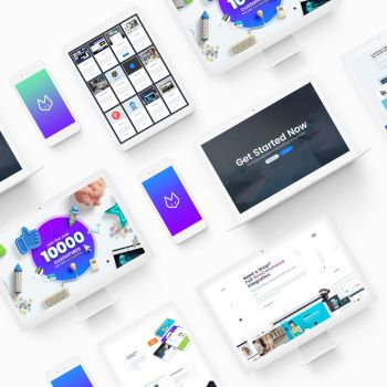 TheFox Landing Page ver 2 Presentation on Behance by tranmautritam