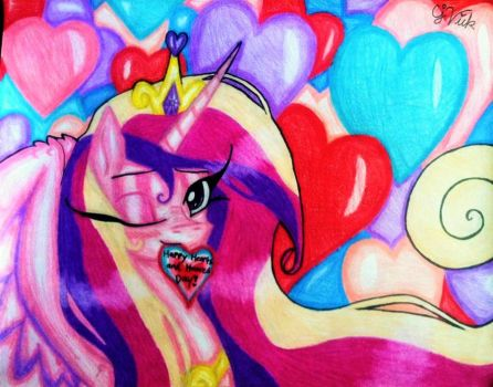 MLP FIM: Cadence Loves You by ravenbird14