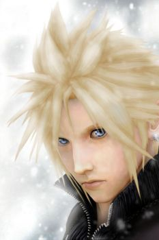 Cloud -- Winter Fallout by valefor