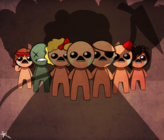 The Binding of Isaac by twin-deer
