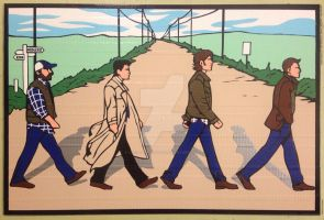 Supernatural Beatles by DuctTapeDesigns