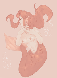 mermaid malon by invisible-comet