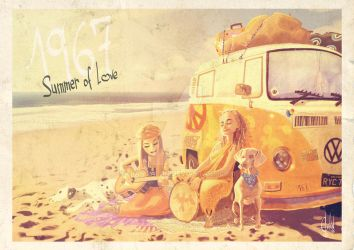 Summer of Love by FranGalan