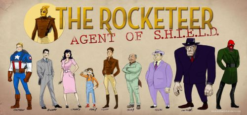 The Rocketeer - Agent of S.H.I.E.L.D. by mikeyroberts