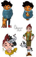 Camp Camp Pokemon AU by Irish--Potato
