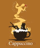 Girl in a Cappuccino by Coolgraphic