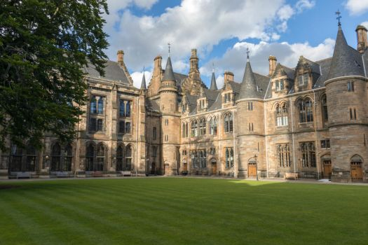 University of Glasgow - courtyard by sequential