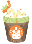 carrot Frappe by Bunaberry
