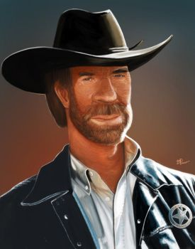 Chuck Norris by BrunoSousa