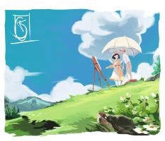 The Wind Rises by Choxii-Art