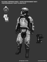 Takamo Universe: AES Fighter Pilot by FutureFavorite