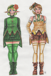 Saria and Ilia by Renata-Greynoria