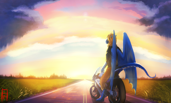 Ride by Arcticfox98