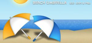 Beach Umbrella by neo014