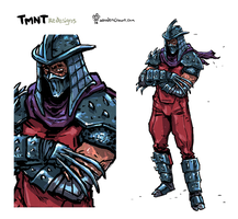 The Shredder Redesign. by TheWoodenKing