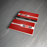 Red Business Card by Mottcalem