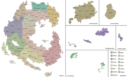 V3 Raythe: Province Map by manomow