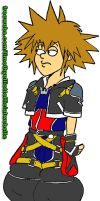 Family Guy Sora colored by UBob