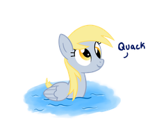 Derpy is a Duck by TheCheeseburger