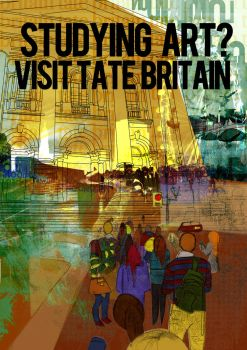 Tate Britain Poster Design 1 by JAMlE